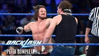 Dean Ambrose Vs AJ Styles|Español Latino Backlash​ 2016