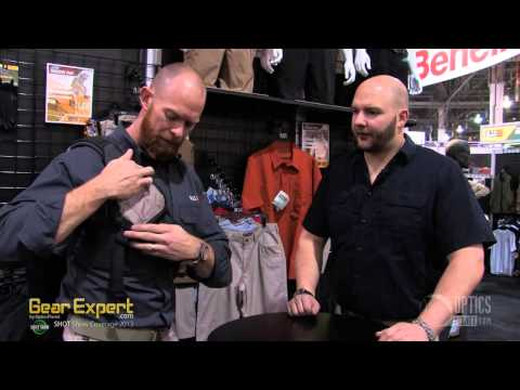 5.11 Tactical Select Carry Sling Pack - SHOT Show 2013 Video