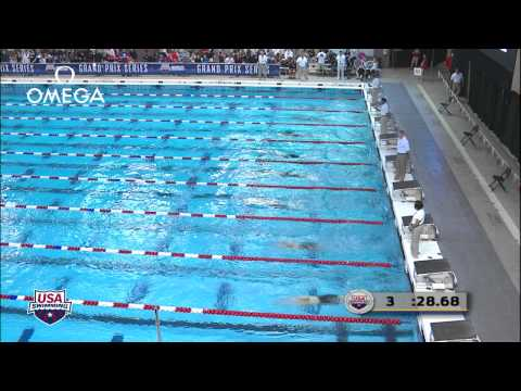 Women's 100m Butterfly C Final   2012 Columbus Grand Prix