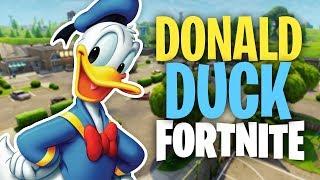Donald Duck TROLLING MORE Kids in Fortnite (Voice Trolling)