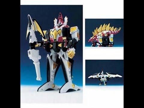 Deluxe Dino Stegazord - Power Ranger Dino Thunder
