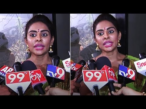 Sri Reddy At Film Chamber | TFPC