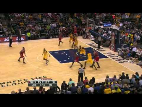 Derrick Rose's return !!  Highlights - Chicago Bulls vs  Indiana Pacers [2013/10/05]