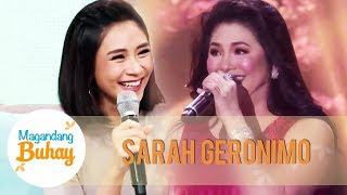 Sarah shares that Regine is a huge influence on her music | Magandang Buhay