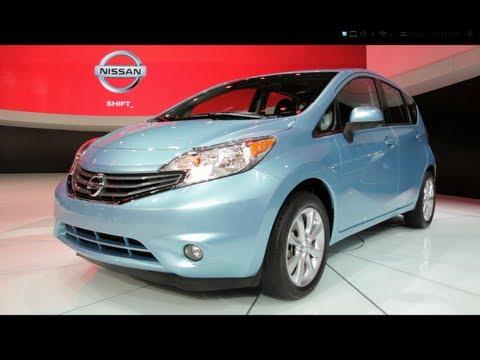 2014 Nissan Versa Note - 2013 Detroit Auto Show