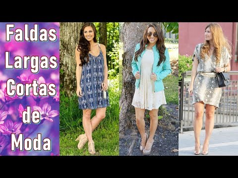 FALDAS LARGAS Y CORTAS DE MODA - CHIC FASHION DESIGN