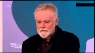 Roger Taylor interview on Loose Women ITV, 27/11/2014