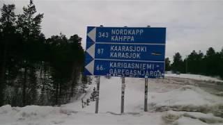Capo Nord in Moto VLOG - Nona Tappa - Rovaniemi - Lapponia - Finlandia - Giellajohka Lapland