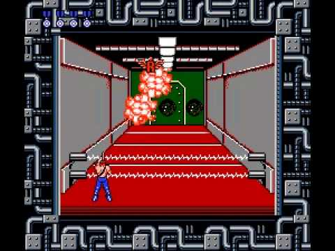 Contra - Contra - Nintendo NES - Stage 4 absolute domination! - User video