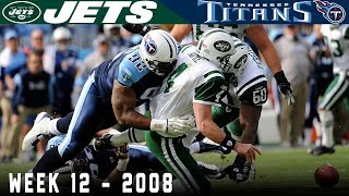Favre Takes on Undefeated Titans! (Jets vs. Titans, 2008) | NFL Vault Highlights
