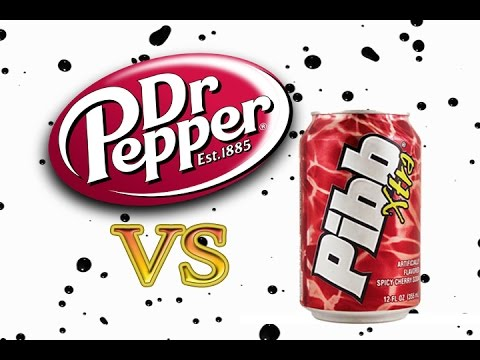 dr Thunder vs dr Pepper dr Pepper vs Pibb Extra