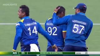 Sri lanka vs Australia 2nd t20 2017