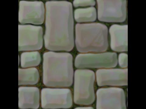 Blender Tutorial; Cartoon stone floor