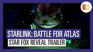 Starlink: Battle for Atlas: E3 2018 Star Fox reveal Trailer