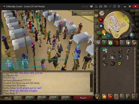 OSRS || Staking session. Little do they know i make bank