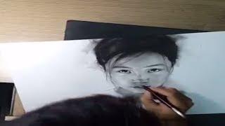 Học Vẽ online -Cách vẽ người - cách vẽ trẻ em p1