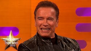 Arnold Schwarzenegger Explains The Terminator's Hilarious New Day Job | The Graham Norton Show