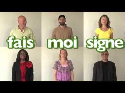 Apprendre la langue des signes LSF mots information presse journal télévisé internet radio