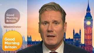 Keir Starmer Counters Criticism That He's a Boring Man | Good Morning Britain
