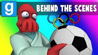 Gmod Olympics Behind the Scenes - Bloopers & Funny Moments (Garry's Mod)