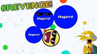 AGAR.IO KILLING TEAMERS - SOLO AGARIO GAMEPLAY