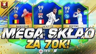 MEGA SKŁAD ZA 70K!!! FIFA 17 ULTIMATE TEAM