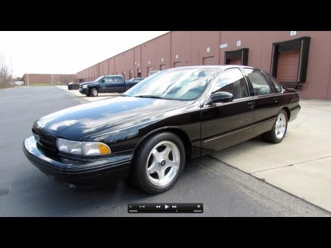 1996 Chevrolet Impala SS Start Up. Exhaust. and In Depth Review