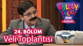 Güldüy Güldüy Show Çocuk 24. Bölüm, Veli Toplantısı Skeci