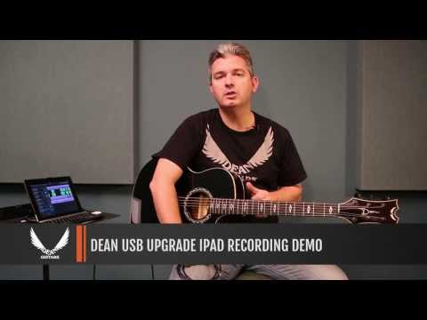 Dean product demo: New USB Upgrade Feature! Play right into your Ipad or mobile device