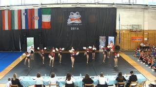 FCC 2016 — SFDT — Ladies {ŠD Pom Pon 2000 — SVN}