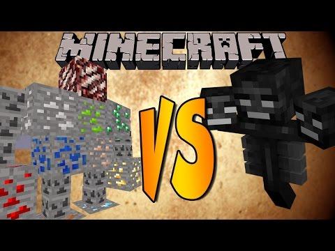 ORES BOSS VS WITHER - Minecraft Batallas de Mobs - Mods