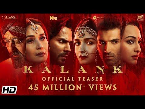 Kalank   Official Teaser   Varun   Aditya Roy   Sanjay   Alia   Sonakshi   Madhuri   Abhishek Varman thumbnail