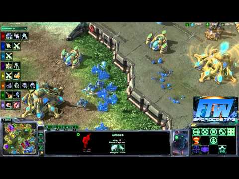 StarCraft 2 - Trollcast: 40 Nukes 40 Nights ft. FTWBroadcasting - Commentary