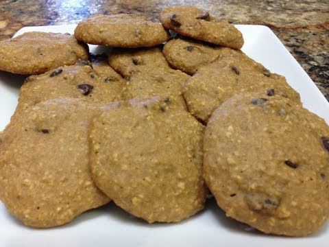 Healthy Chocolate Chip Cookies - HASfit Healthy Dessert Recipes - Gluten Free Healthy Cookie Recipes