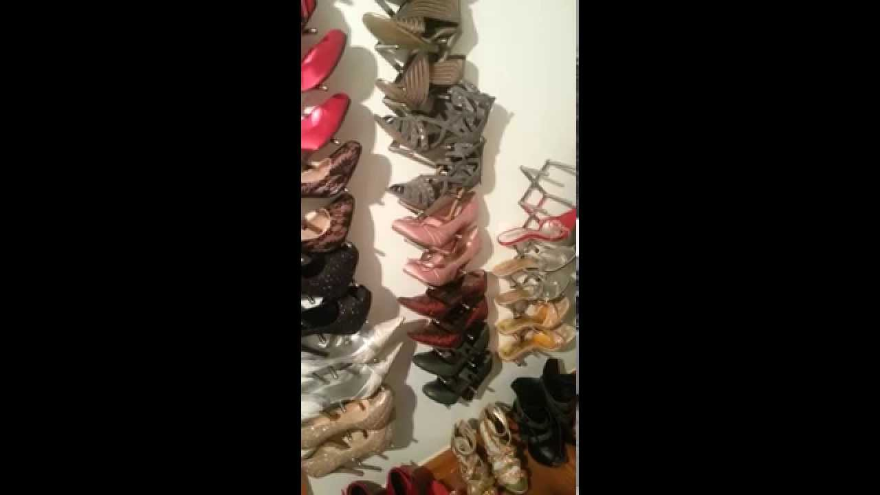 Cheap Diy shoe storage ideas - YouTube