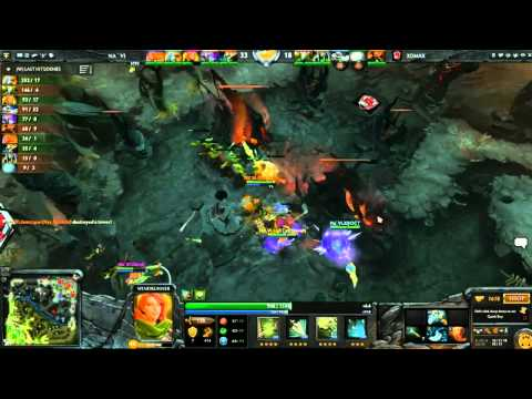Dota 2 - #Feb 27 NaVi vs 3Dmax commen: V1lat, Casper �2