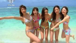 FTV   Swimwear San-Ai Photosession in Guam - Sexy Bikini Beach Photo Shoot   FashionTV - FTV.com