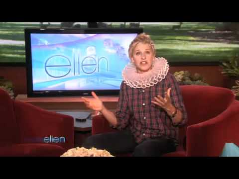 Ellen Fondly Remembers the Shake Weight