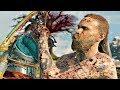 GOD OF WAR 4 - Atreus Shoots Kratos & Baldur Stabs Atreus (Baldur Boss Fight #2)