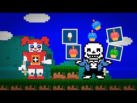 Sans in Baby's Minigame | FNAF Sister Location Mod