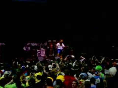 "The Penn State Nittany Lion performs its own interpretation of the YouTube smash hit ""Evolution of Dance"" during THON 2007, Penn State&squot;s 46-hour Dance"