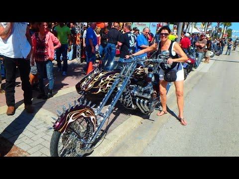USA Daytona beach Bike Week March 2015 - Байкеры Америки FloridaYalta