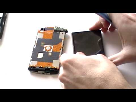 Blackberry Storm 9530 & 9500 LCD Screen Repair Take Apart Guide
