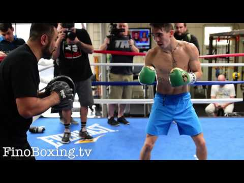 Mike Conlan sick power, speed & precision