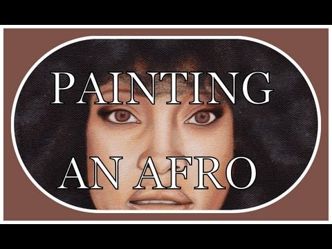 ERYKAH BADU/ HOW TO PAINT AN AFRO