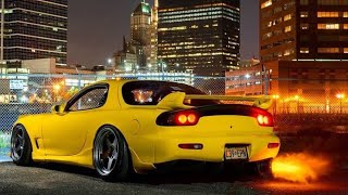 Yellow Rx7 Gets The Vargas Flame Tune