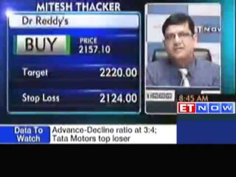 Stocks Picks For Today : Dr Reddy's, Cadila, Bata India
