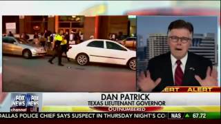 TX Lieutenant Governor Dan Patrick blames BLM for Dallas shooting