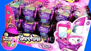 Shopkins Season 4 Fashion Spree Surprise 2016 FULL CASE | 60 Shopkins Temporada 4 com Ovo de Páscoa