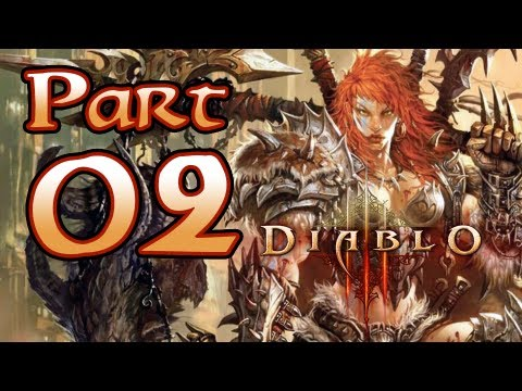 Diablo 3 III Gameplay – Barbarian Class Pt 2